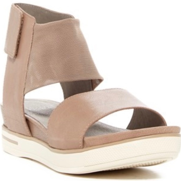 b4274228793 Eileen Fisher Shoes - Eileen Fisher Spree Platform Sport Wedge Sandals